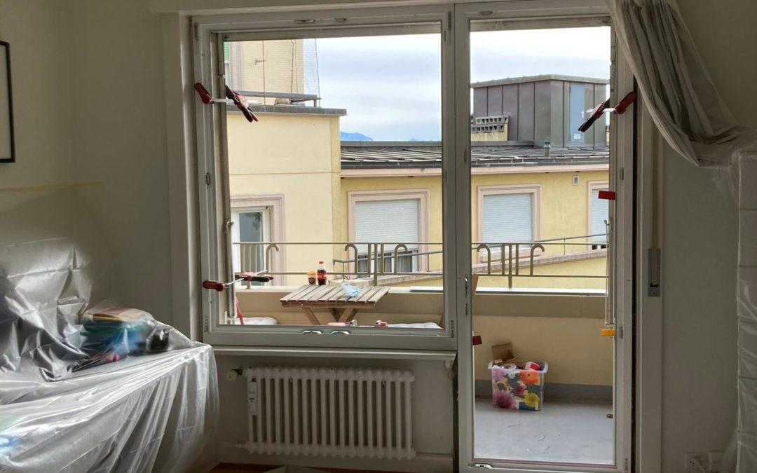 Rénovation d'un appartement à Lausanne